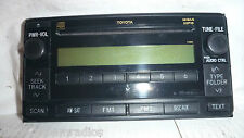 03-07 Toyota  Matrix Yaris Celica Highlander Cd Mp3 Face Plate 11841