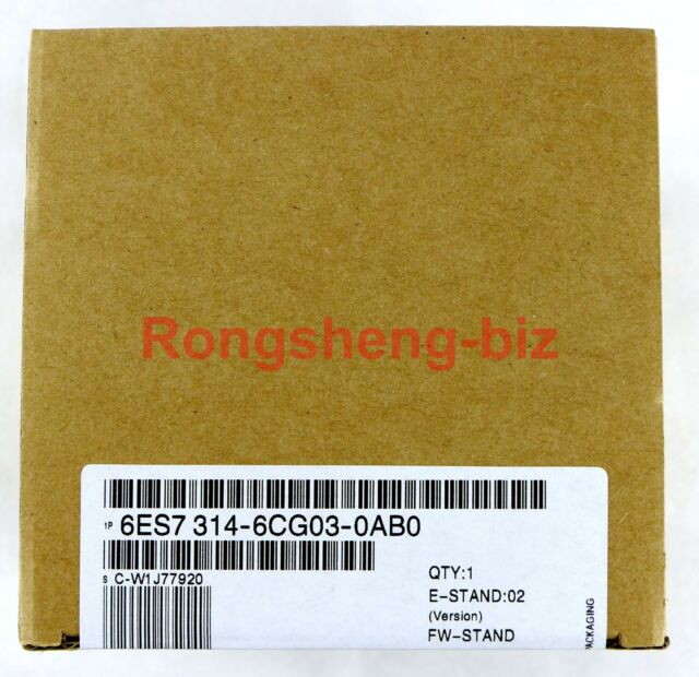 1 PC Brand New Siemens PLC 6ES7 314-6CG03-0AB0 6ES7314-6CG03-0AB0 In Box #RS02