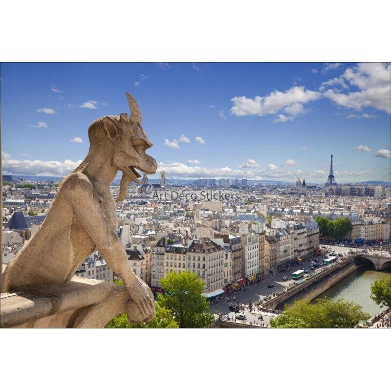 Stickers Stickers Stickers muraux géant déco : Notre Dame de Paris 1466 8e4475