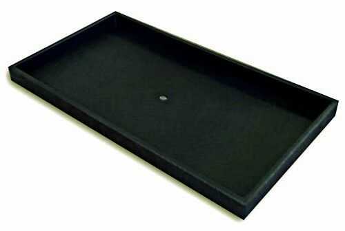 1 Black 36 Jar Tray Use for Gems Beads Coins Gold Nuggets Body Jewlery Display