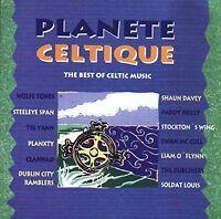 Planete Celtique-The Best of Celtic Music (1994) Wolfe Tones, Steeleye Sp.. [CD]