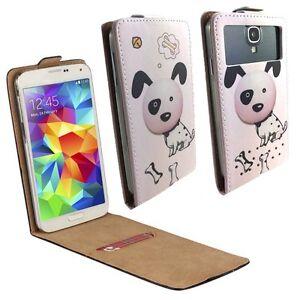 Mobile-Flip-Cover-With-Card-Holder-For-HiSense-U972-Dalmation-M-FLIP