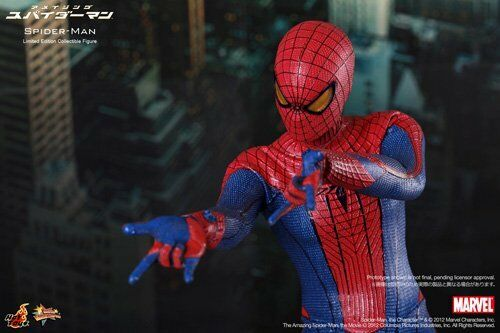 NEW Movie Masterpiece Amazing Spider-Man SPIDER-MAN 1/6 Action Action Action Figure Hot Toys ce40ff