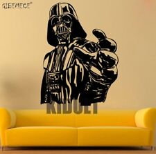 GIANT DARTH VADER STICKER STAR WARS POSTER CHILDREN BEDROOM WALL DECAL ART