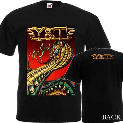 """S 7XL NEW T-SHIRT /"""" Y/&T MEAN STREAK/'83 /"""" DTG PRINTED TEE"""