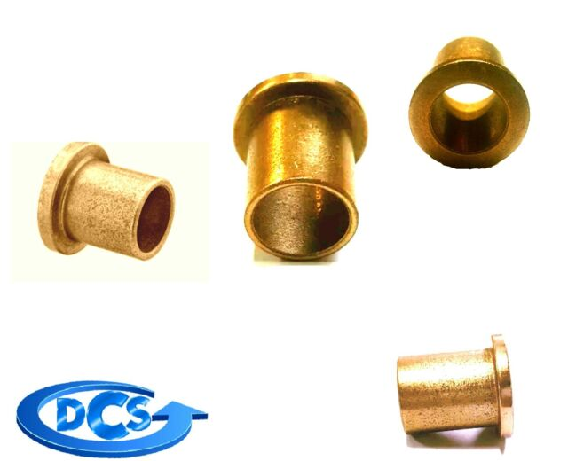 Oilite Bronze Bushing 1//8 id x 1//4 od x 3//8 Length Sleeve Bearing Spacer-New 1