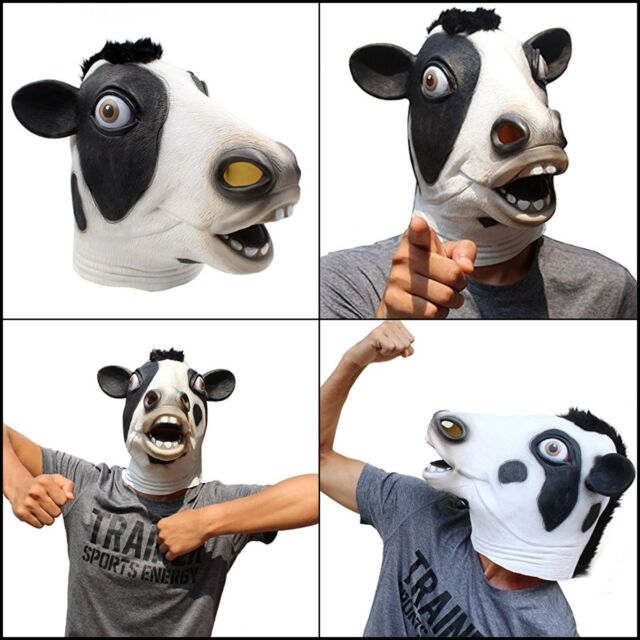 Fancy Prop Deer Mask Halloween Animal Head Mask Novelty Costume Party Cosplay