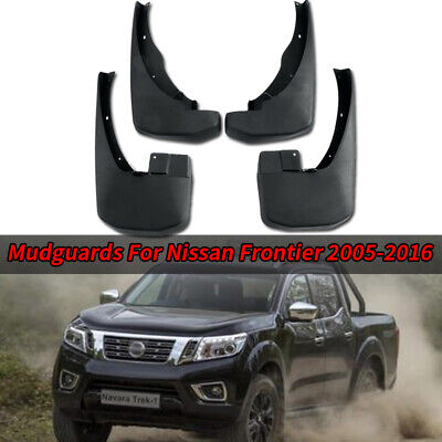 For Nissan Frontier 2005-2016 Rear /& Front Splash Mud Guards Flaps Set Fender