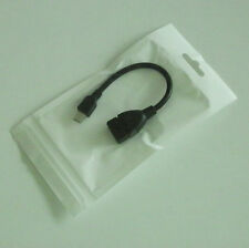 USB female to Micro USB Male Straight OTG adapter cable for Samsung Galaxy S III
