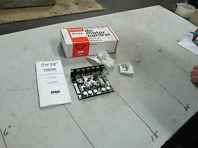 IMO Fincor NIB Adjustable Speed DC Motor Control Mod #2122 1.5-2 HP 115//230V