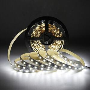 SUPERNIGHT-Daylight-White-5M-300Leds-LED-Light-Strip-5050-SMD-Non-waterproof