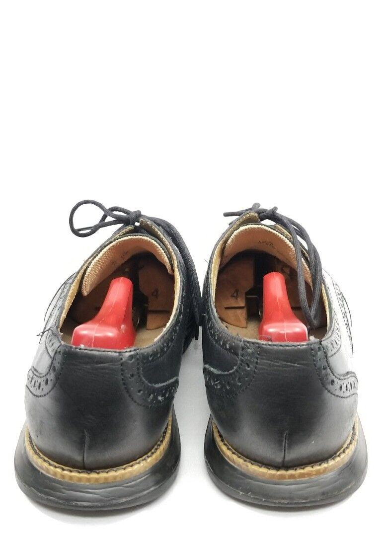 Cole Haan Grand OS C13412 Uomo Nero Pelle Wingtip Shoes M 11 M Shoes 364d32