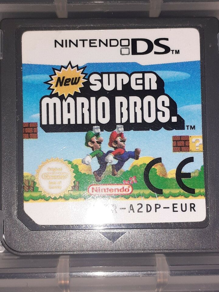 Super Mario Bros, Nintendo DS, action