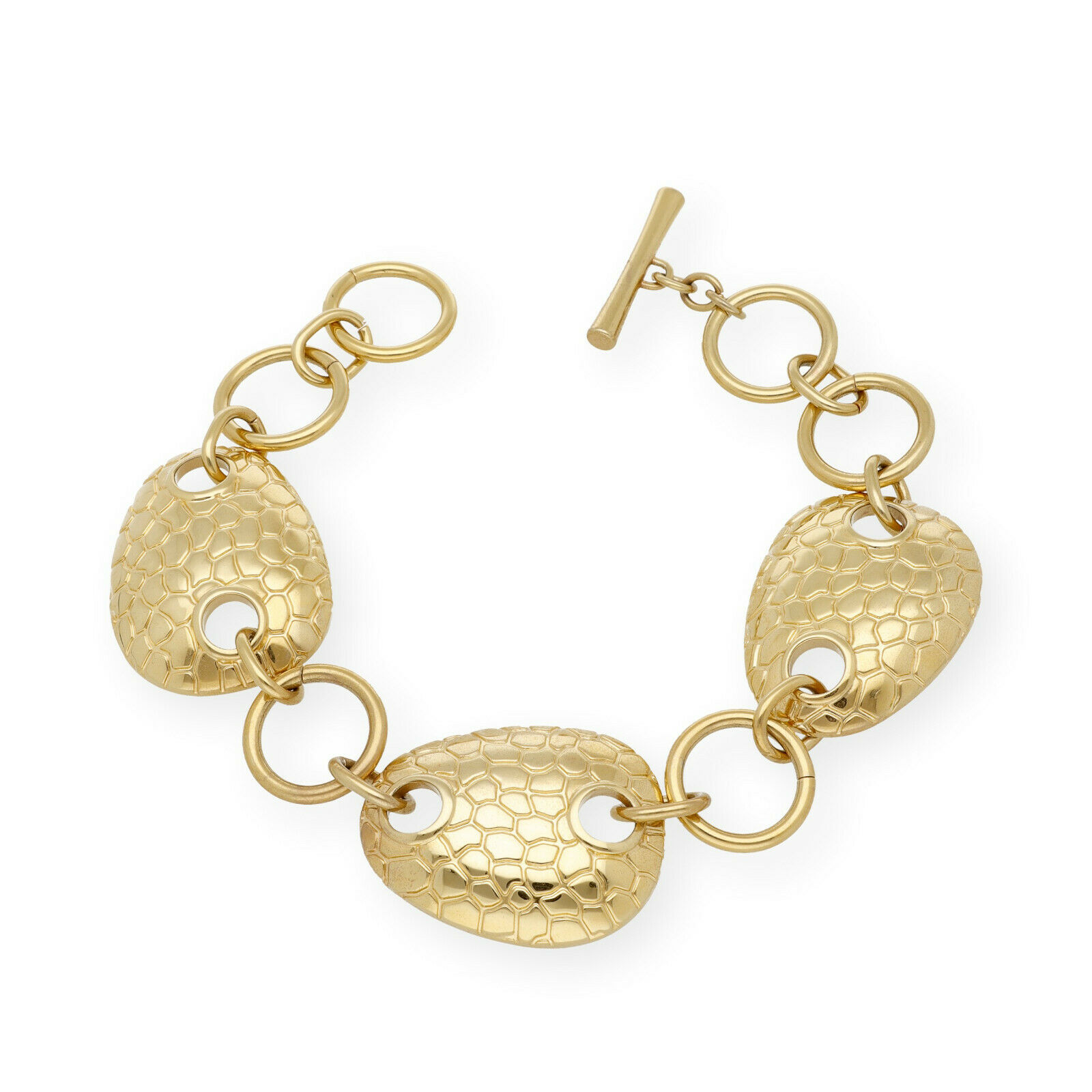 Pulseras De Acero Y Oro Antigüedades, Usado en Mercado