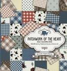 Patchwork of the Heart Adult Coloring Book: Color Quilting Patterns and Scenes of Amish Life by Passio (Paperback / softback, 2016)