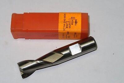 """GREENFIELD DOALL 5//8/"""" x 1-5//8/"""" Cut 2 Flutes Slot Drill End Mill USA 47524"""