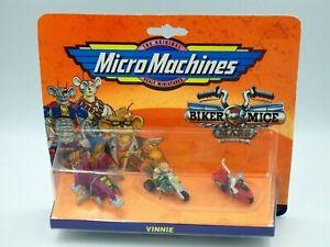 Figurine-biker-mice-micro-machine-pack-mini-figure-vintage-vinnie-blister-galoob