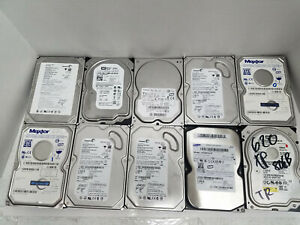 Lot-of-10-Various-Brands-80GB-3-5-034-SATA-Hard-Drive-HDD-Tested-Wiped-B