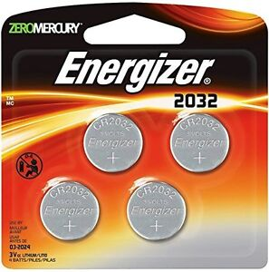 4 pack energizer cr2032 batteries exp2024 240mah 3v. Black Bedroom Furniture Sets. Home Design Ideas
