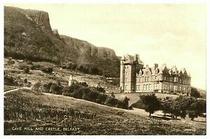 Vintage-postcard-Cave-Hill-amp-Castle-Belfast-Northern-Ireland-W-E-Walton