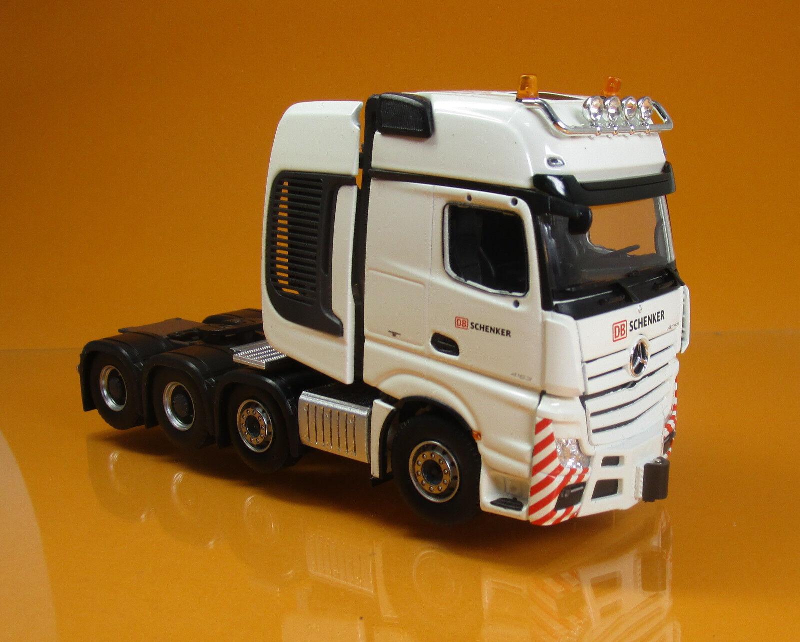 Herpa 071307 Mercedes Benz Actros SLT tracteur camion DB Schenker Scale 1 50 NOUVEAU