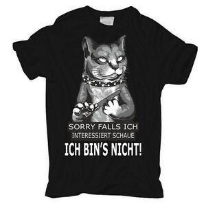 Das Bild wird geladen T-Shirt-Falls-ich-interessiert-schaue-ICH-BIN-