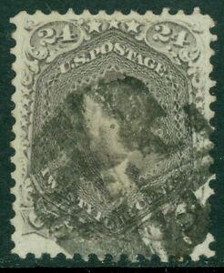EDW1949SELL : USA 1868 Scott #78 Used Very Fine. PSAG Certificate. Catalog $350.
