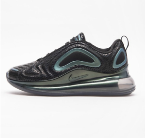 wholesale dealer 42c38 54827 Details about NIKE WOMENS AIR MAX 720 BLACK SILVER LIMITED BOYS SHIP NOW  AR9293-002 NEW VAPOR