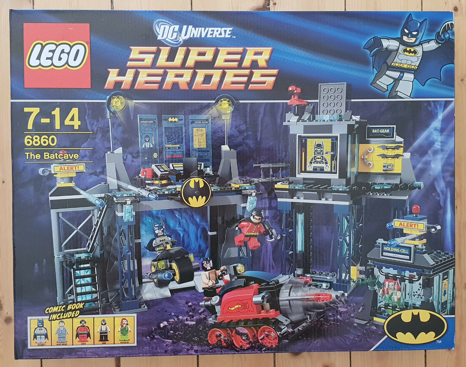 LEGO Super Heroes - 6860 - The Batcave Set (NEU)