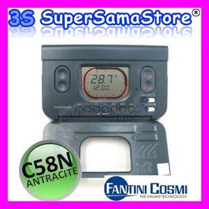 3s cronotermostato termostato c58 n nero fantini cosmi ebay for Cronotermostato ch140 gsm fantini cosmi