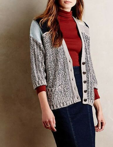 Sparrow Anthropologie Blend Uld Cardigan Risa S Nwt M Marled pRdCwqrR