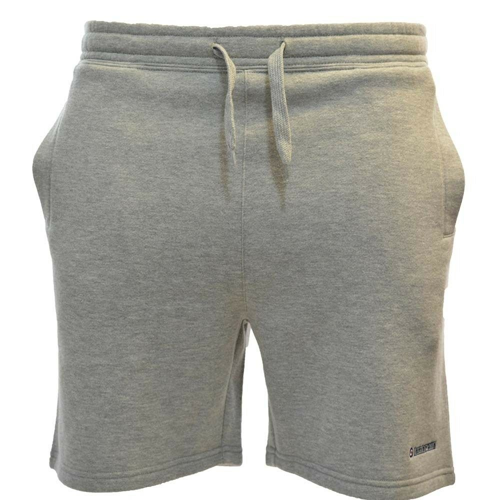 Lambreta Men's Fleece Shorts Grey Marl