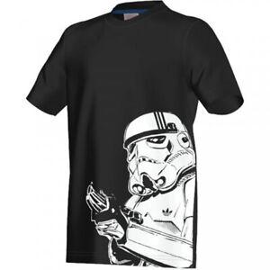 Venta caliente 2019 nueva productos venta caliente barato Camiseta Adidas Star Wars Stormtrooper Black Mod. S14437   eBay