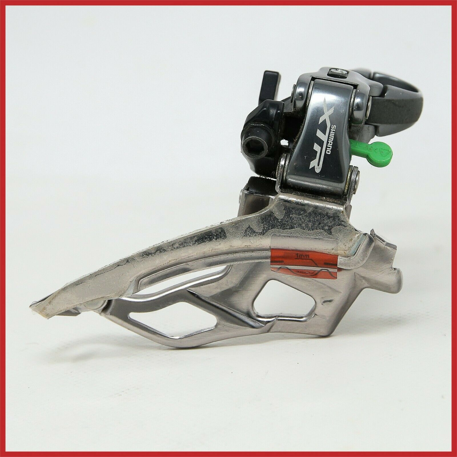 NOS SHIMANO XTR FD-M961 FRONT DERAILLEUR MTB CLAMP  31.8mm DUAL PULL 3x9 MOUNTAIN  fishional store for sale