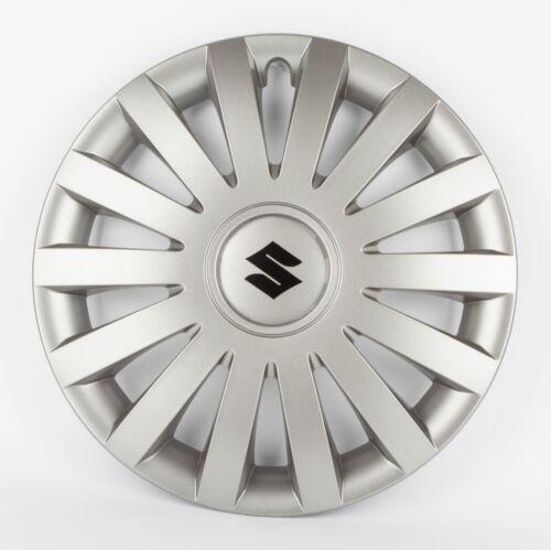 "Suzuki Genuine Set Of 4 15/"" Wheel Trim Cover Hub Caps in Anthracite 990E0-86G38"