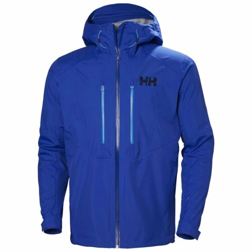 Helly Hansen Mens Verglas 3L Waterproof Jacket Size M Olympian Blue