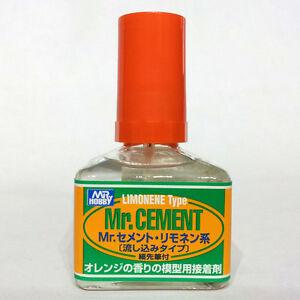 Mr-Hobby-Gunze-GSI-Creos-Cement-Limonene-Citrus-Lemon-Scent-40ml-MC130-Wet-Glue