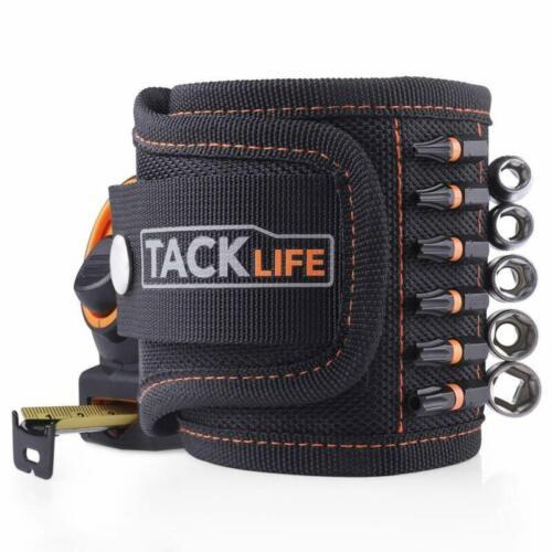 clous TACKLIFE magnétique bracelet avec des aimants pour Holding outils vis