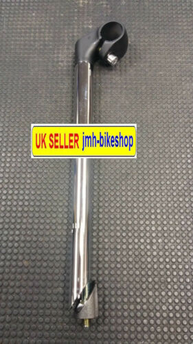 Extra long high rise quill bike stem 22.2mm 22.2 mm 300mm long