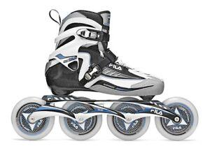Fila-Nine-100-Lady-black-Marathon-Line-Speedskate-Inliner-Skates-Gr-40-7022