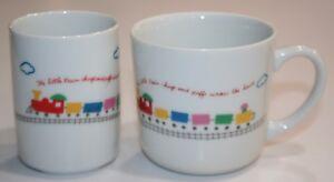 Vintage Sanrio Cups 1977 Set of 2