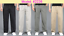 Men/'s Cotton Business Casual Pants Thin Loose Leisure Trouser Spring Summer Fall