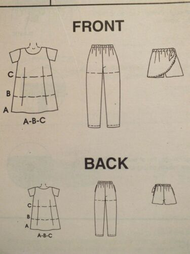 OOP McCALLS 9302 Tdlrs//Girls Tops Pants Shorts /& Skort PATTERNS 2-3-4-5-6 UC