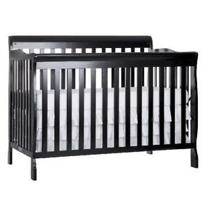 Convertible Baby Bed 5-in-1 Convert from Crib to Toddler ...