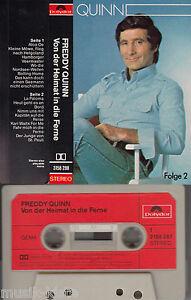 Freddy-QUINN-Von-der-Heimat-in-die-Ferne-Folge-2-gt-MC-Musikkassette-wie-NEU