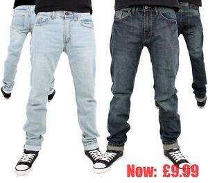 Streetwear-PREMIUM-Ajustado-Liso-Jeans