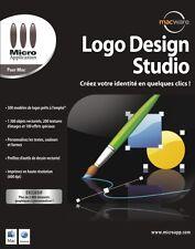 NEUF: Logiciel LOGO DESIGN STUDIO pour MAC francais création entreprise image