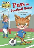 Puss in Football Boots (Hopscotch Twisty Tales)-ExLibrary