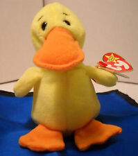 Beanie Baby Quackers - 1993/94 Tag Error - Retired RARE! - born 4/19/1994 (O68)