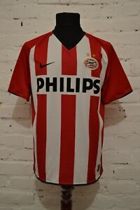 PSV-EINDHOVEN-HOLLAND-2008-2010-HOME-FOOTBALL-SHIRT-SOCCER-JERSEY-SIZE-M-NIKE